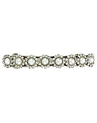 Mood Pearl And Crystal Hair Barrette