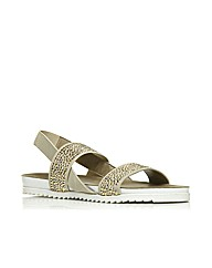 Moda in Pelle Nazzaro Ladies Sandals