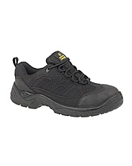 Amblers Steel Black Safety Trainer