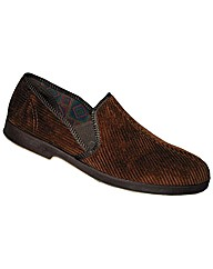 GBS Exeter Mens Twin Gusset Slipper