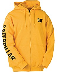 Caterpillar Zip Hooded Sweatshirt