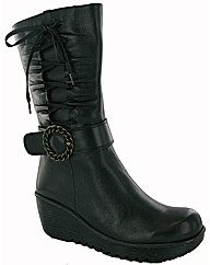 Riva Gull Wedge Zip Boot