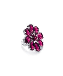 Fuchsia Flower Ring