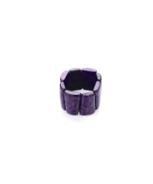 Purple Coloured Stretch Bracelet