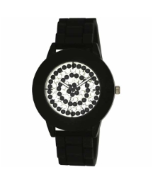 Ladies Crystal Dial Watch