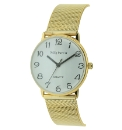 Gents Gold Coloured Bracelet Watch