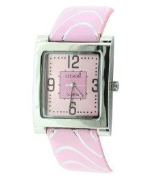 Ladies Pink Dial Watch