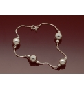 Sterling Silver 8mm Ball & Box Bracelet