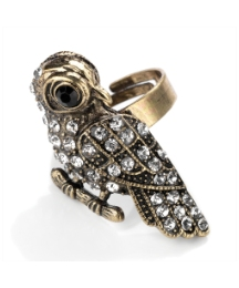 Gold Coloured Bird Shaped Ring