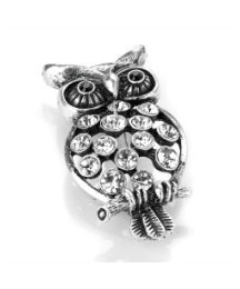 Antique Look Owl Brooch