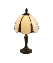 Tiffany Table Lamp - Cream Shade