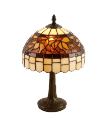 Tiffany Lamp with Flower pattern shade
