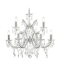Clarence 9 Light Chrome Chandelier
