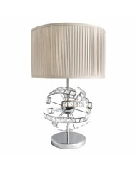 Crystal Bars Large Table Lamp