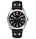 Gents Swiss Military Strap Watch