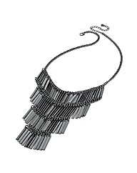 Accessories Hematite Coloured Necklace
