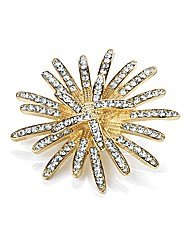Accessories Gold Coloured Brooch