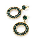 Accessories Green Coloured Earrings