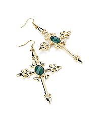 Accessories Cross Shaped Earrings