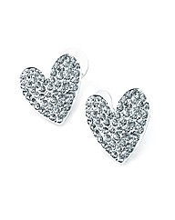 Accessories Heart Shaped Stud Earrings