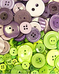Fresh and Funky Buttons Assortment