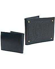Jack Daniels Wallet, Engraved Logo