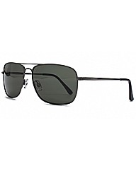 Polaroid Square Aviator Sunglasses