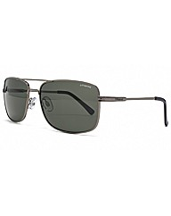 Polaroid Square Aviator Sunglasses