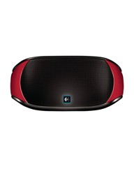 Logitech mini wireless boombox red