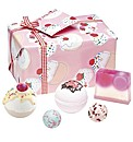 Bath Bomb Cherry Bathe Well Set