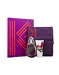 Kenzo Madly 80ml Edt+Body Lotion+Purse