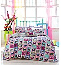 Accessorize Butterfly Stamp Duvet Set