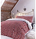 Catherine Lansfield Heart Fitted Sheet