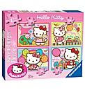 Hello Kitty Jigsaws 4 in a Box