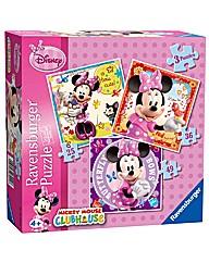 Disney Minnie Mouse Jigsaw 3 in Box