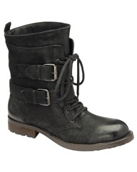 Ravel Haste buckle and strap ankle boot