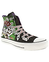 Converse All Star Hi Iii Joker Print
