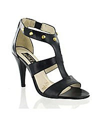 Marta Jonsson black leather sandal