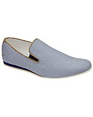 Dispair Moorgate slip on canvas