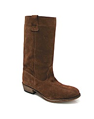 Marta Jonsson tan suede calf boot