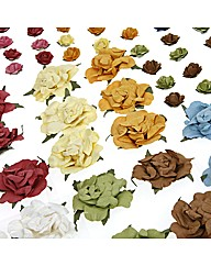 Create and Craft Paper Rose Flowers - 10