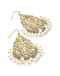 Accessories Gold Coloured Earrings