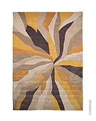 Splinter Abstract Design Hand Tufted Rug