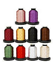 QA Embroidery Thread 10 Spools of 1000m