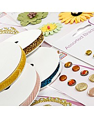 Create and Craft Golden Yellows Embelish