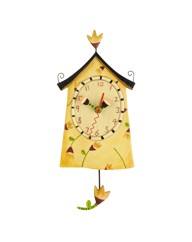 Allen Designs Tulip House Clock
