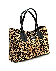 Marta Jonsson leopard leather bag