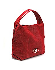 Marta Jonsson red leather bag