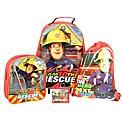 Fireman Sam 4 Piece Luggage Set