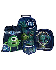 Monsters University 4 Piece Luggage Set